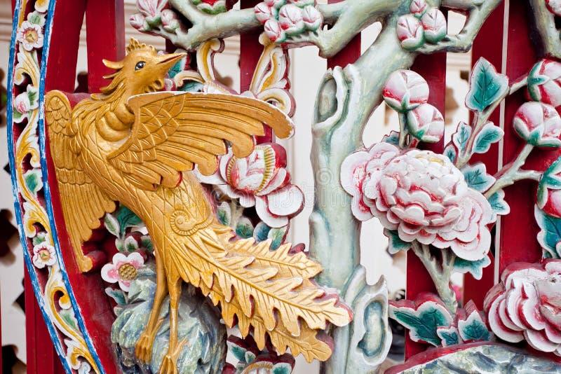 Talla de China fotos de archivo libres de regalías