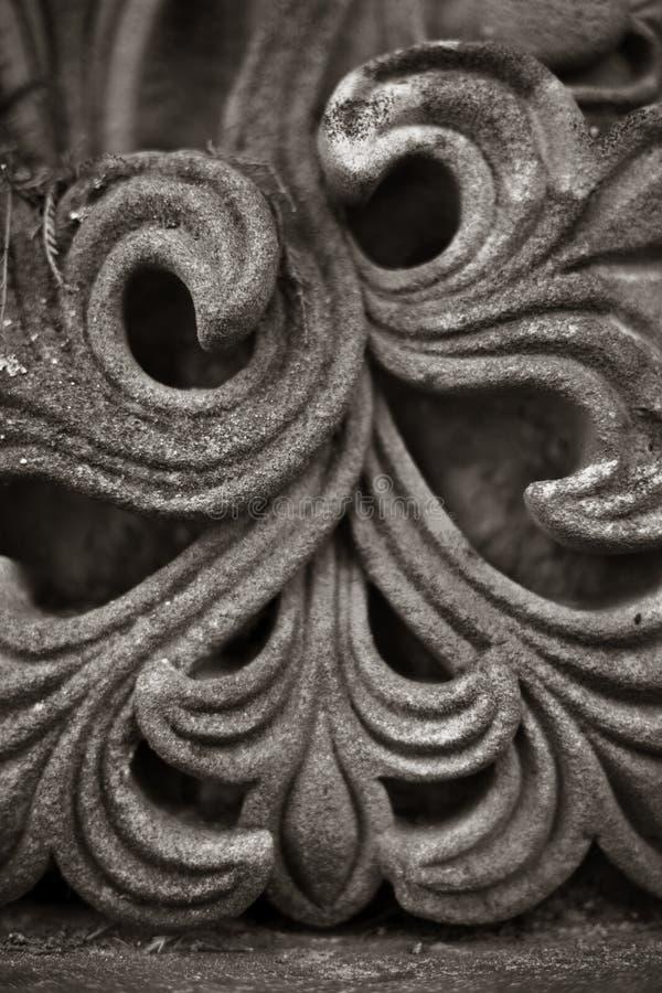 Talla de la piedra arenisca foto de archivo libre de regalías