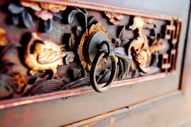 Talla de madera imagenes de archivo
