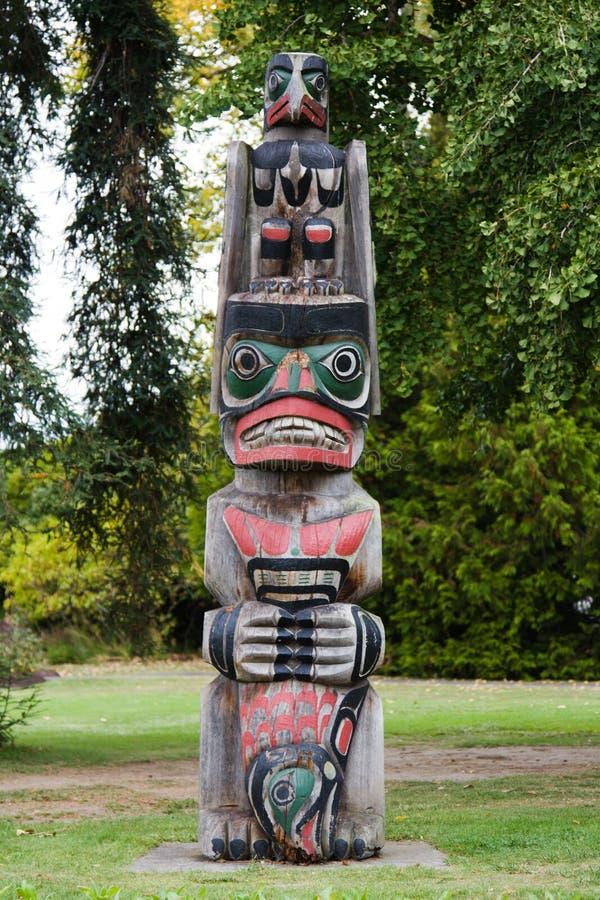 Talla maorí imagen de archivo