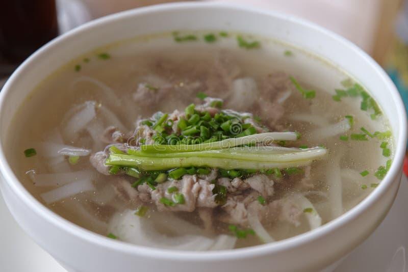 Tallarines de arroz de Vietnam Pho BO imagen de archivo libre de regalías