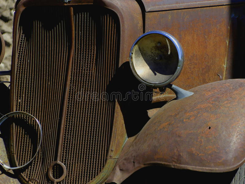 30-tallastbil arkivbild