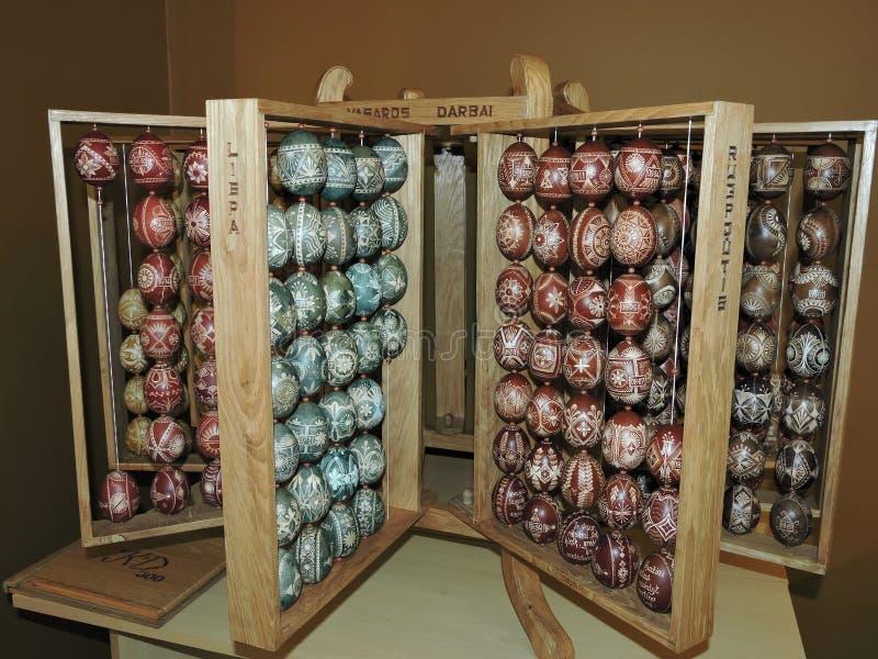 Talle los huevos de Pascua foto de archivo