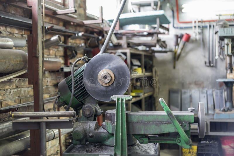 Taller de metalurgia foto de archivo