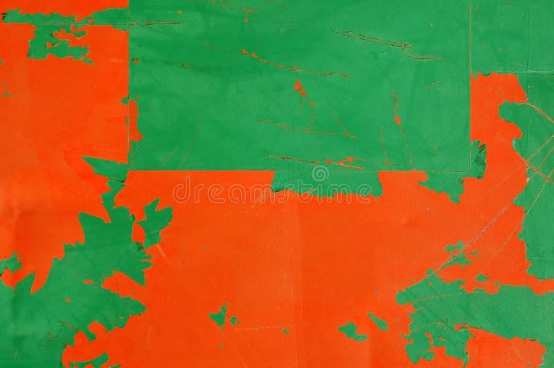 Taller de pintura de la peladura foto de archivo libre de regalías