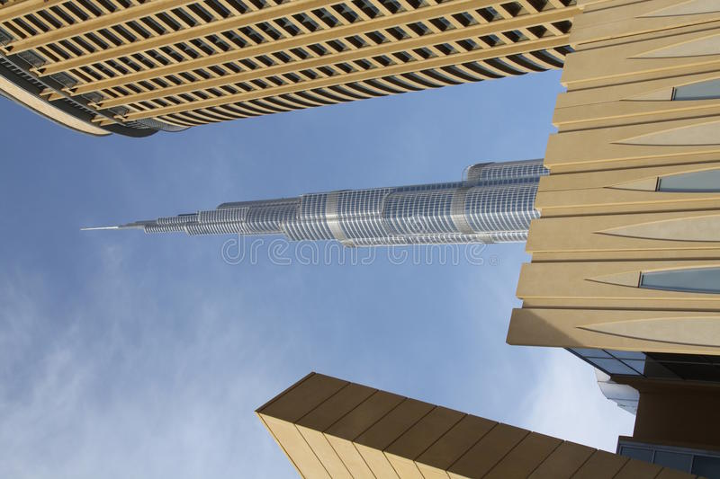 Download The tallest tower stock photo. Image of dubai, solid - 14063354