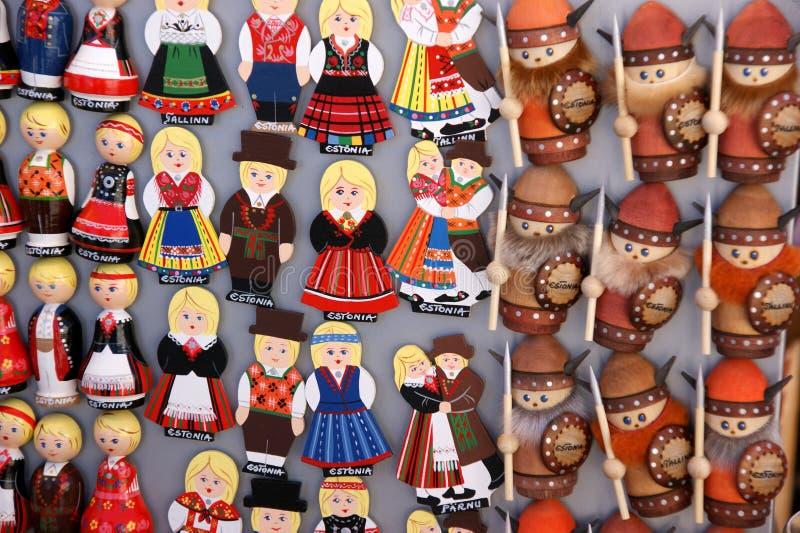 tallin сувенира эстонии стоковые изображения