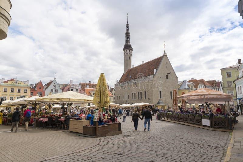 Tallin Estland stock foto