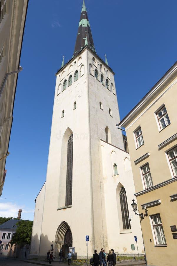 Tallin Estland stock foto's