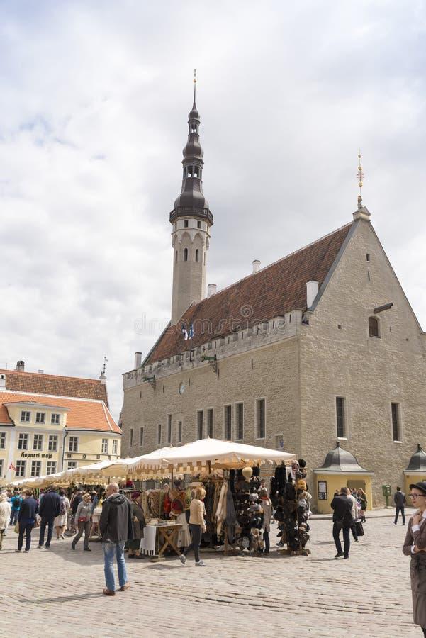 Tallin Estland royalty-vrije stock foto