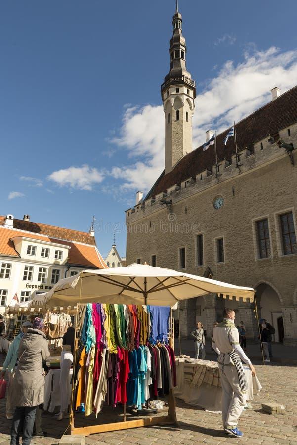 Tallin Estland royalty-vrije stock foto's