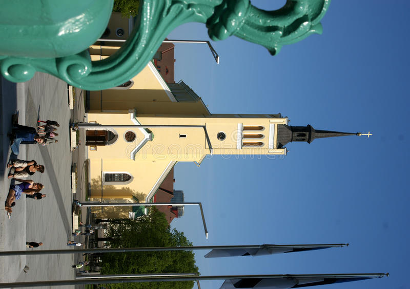 tallin John s ST εκκλησιών στοκ φωτογραφία με δικαίωμα ελεύθερης χρήσης