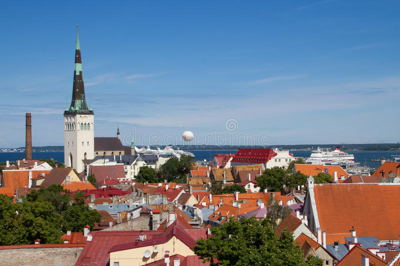 Download Tallin editorial photography. Image of bright, architectural - 43222502