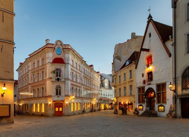 tallinn эстония город старый стоковая фотография