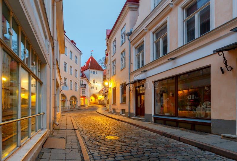 tallinn эстония город старый стоковые фотографии rf