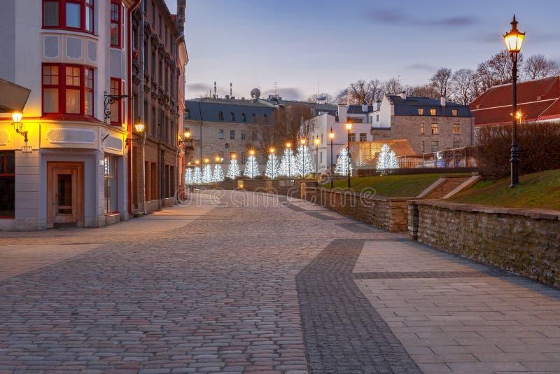 tallinn эстония город старый стоковое изображение rf