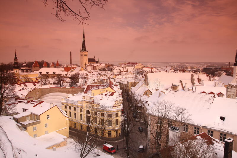 Tallinn fotografía de archivo