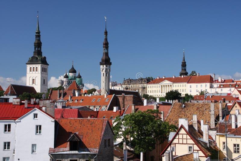 Tallinn photographie stock libre de droits