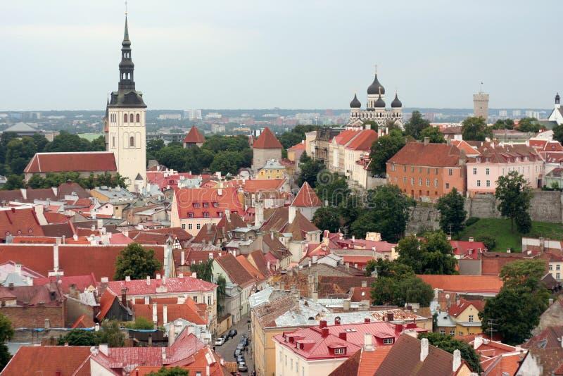 Tallinn royalty-vrije stock afbeelding