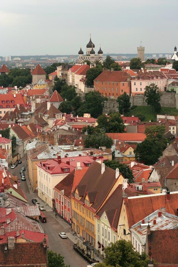 Tallinn foto de archivo libre de regalías