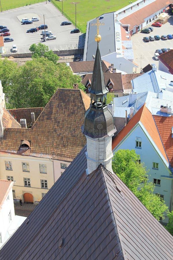 Tallinn, capitel de Estonia, 2014 ywar foto de archivo libre de regalías