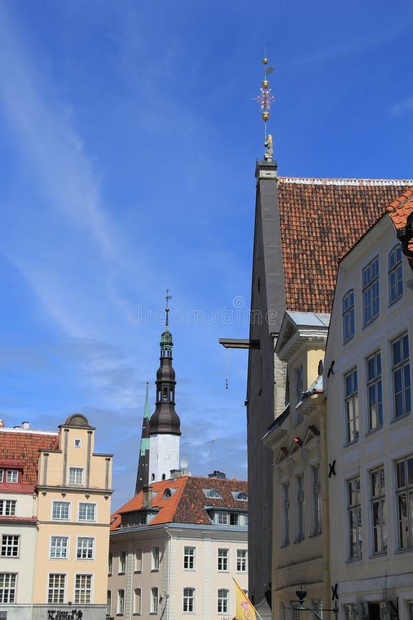Tallinn, capitel de Estonia, 2014 ywar fotos de archivo