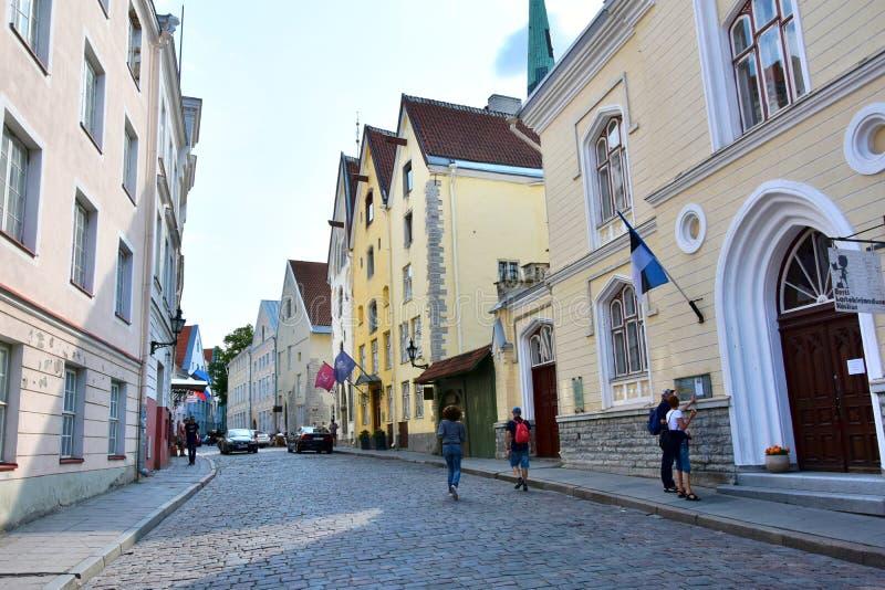 Tallinn contiene ningún 1 llamado las tres hermanas fotos de archivo libres de regalías