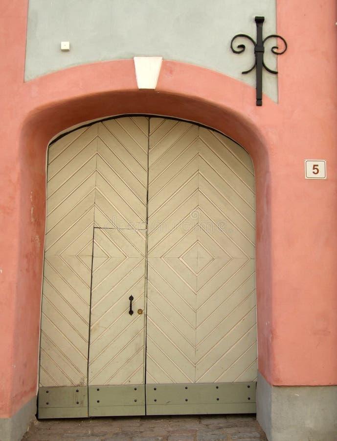 Tallinn door stock photos