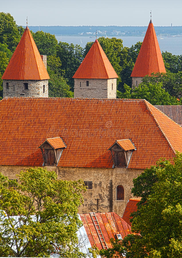 Tallinn Estónia foto de stock royalty free