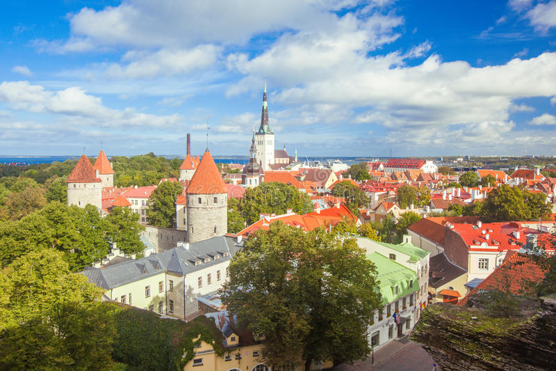 Tallinn, Estónia foto de stock