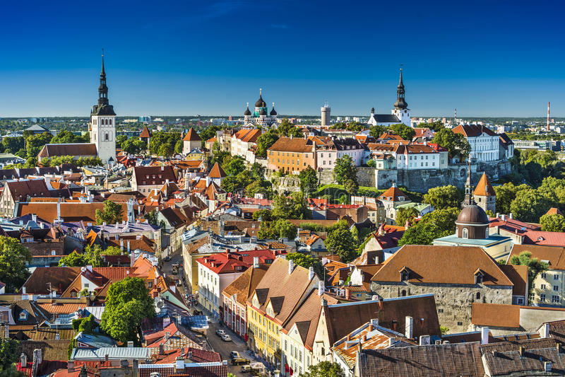 Tallinn, Estônia fotos de stock