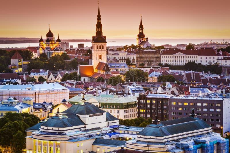 Tallinn, Estônia fotografia de stock