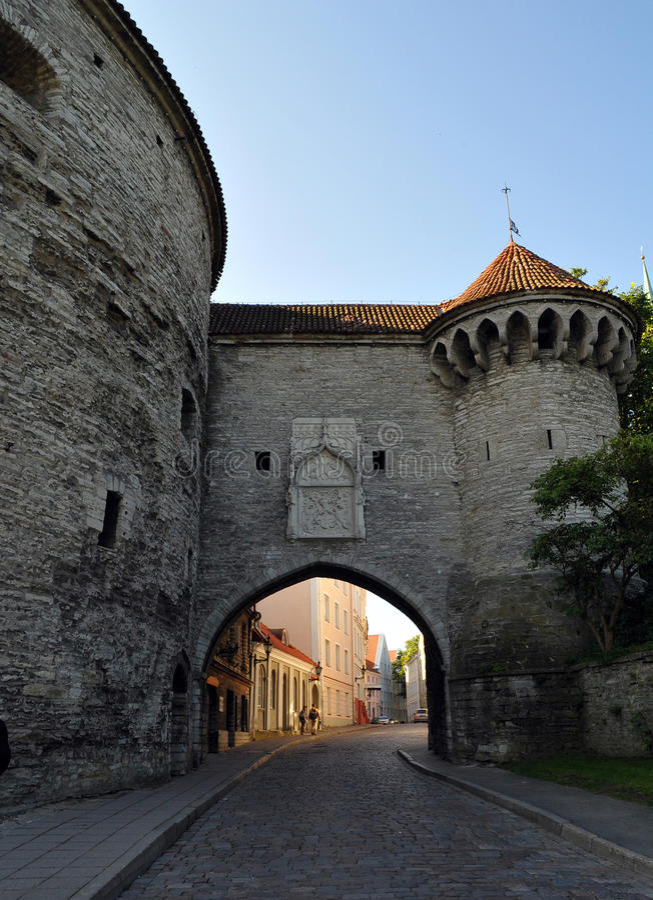 Tallinn Estland stock afbeeldingen