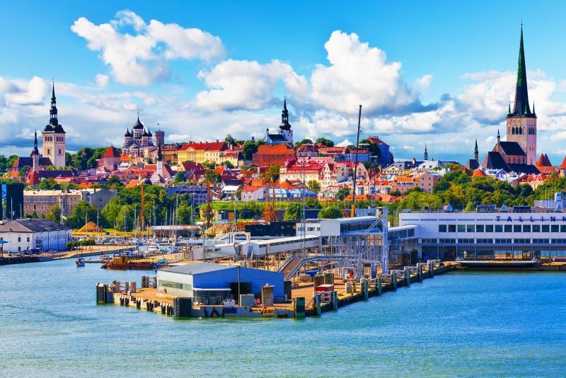 Tallinn, Estland stock fotografie