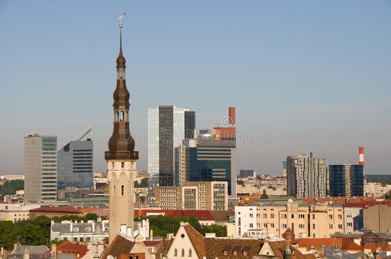 Tallinn, Estland royalty-vrije stock foto