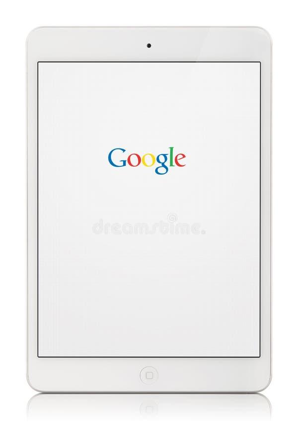 Tallinn, Estland - maart 22, 2014: Google is een Amerikaan multi stock fotografie