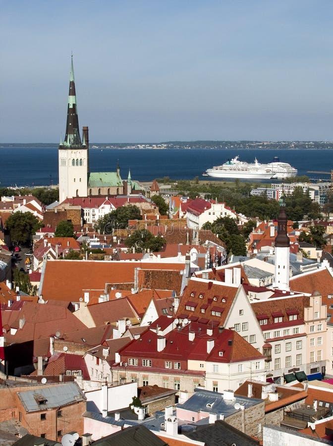 Tallinn, Estonia foto de archivo libre de regalías