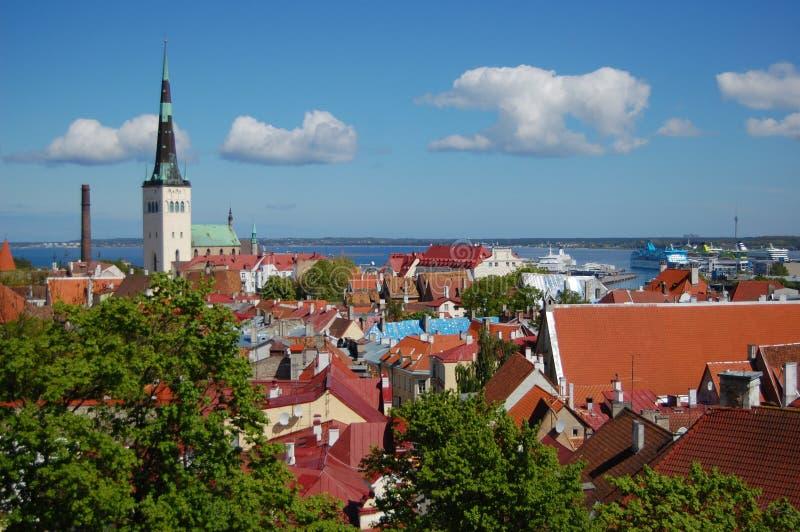 Tallinn, Estonia imagenes de archivo