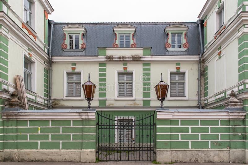 Tallinn in Estonia, houses royalty free stock image