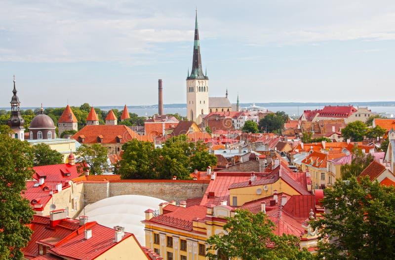 Tallinn Estonie images libres de droits