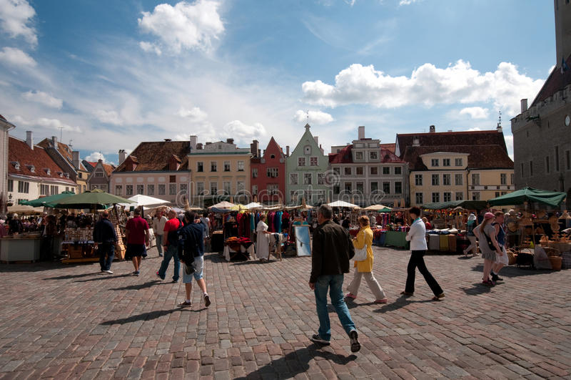 Tallinn, Estonie photos libres de droits
