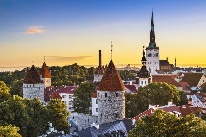 Tallinn, Estonie photos stock