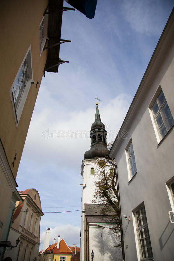 Tallinn, kapitał Estonia zdjęcia royalty free