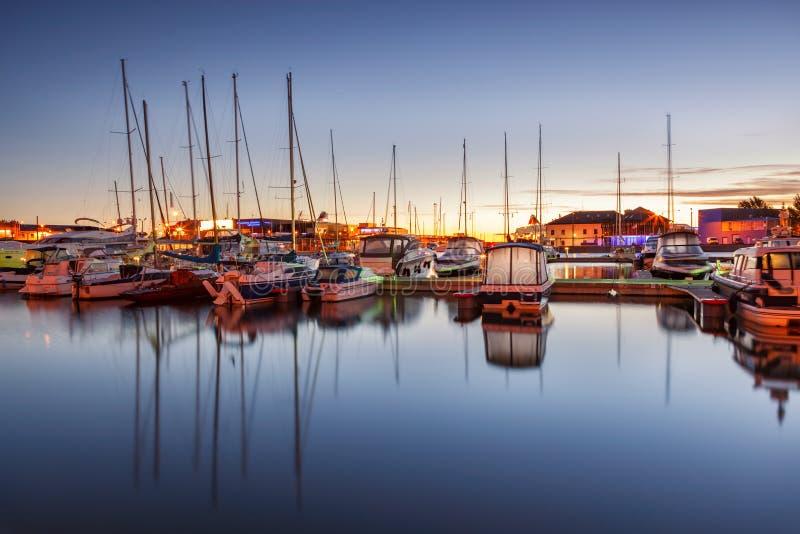 Tallinn Marina Estonia image stock
