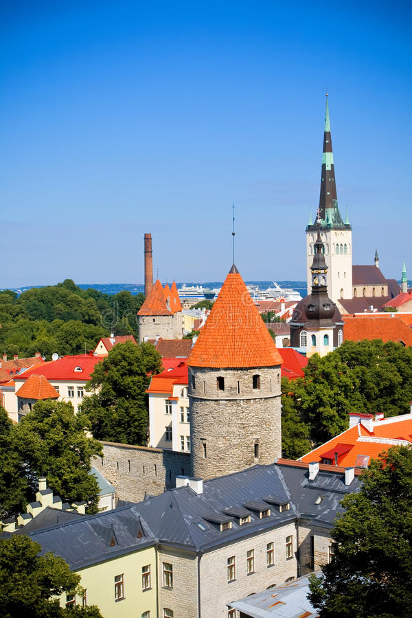 Tallinn Old Town Royalty Free Stock Image