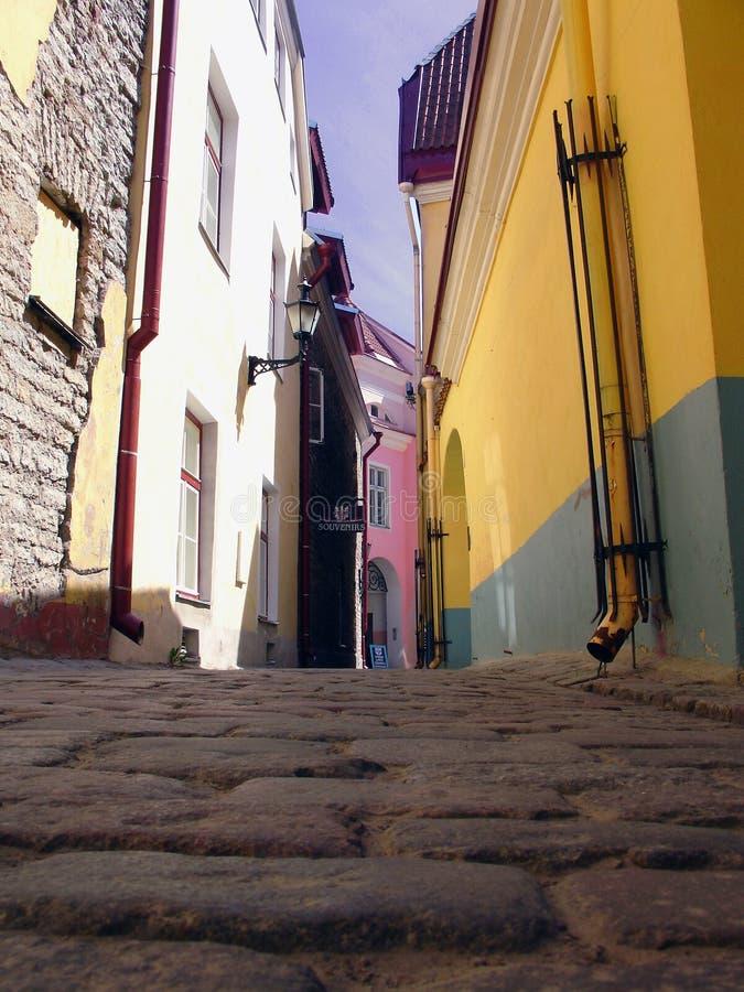 Tallinn, oude stad royalty-vrije stock fotografie