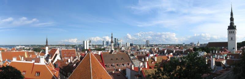 Tallinn panorama royalty free stock photos