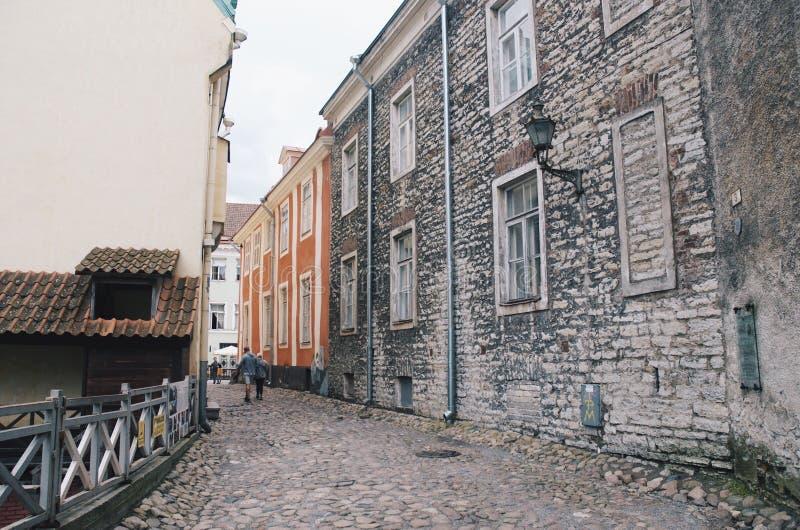Tallinn velho fotografia de stock royalty free
