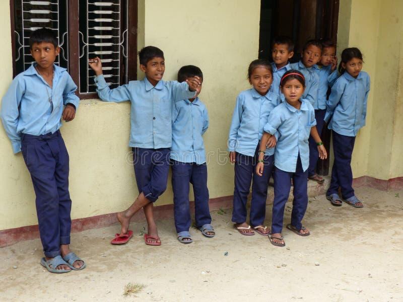 从Tallo Chipla的孩子 免版税库存图片