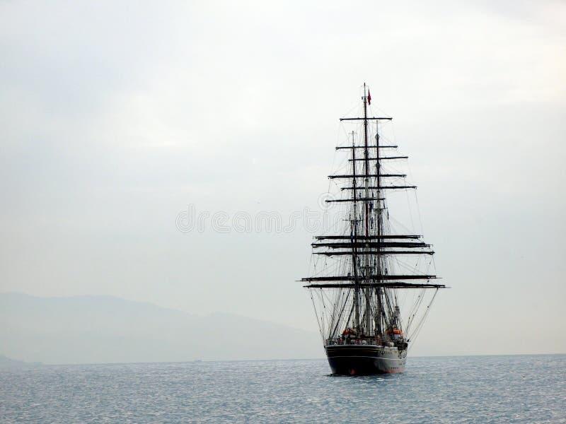 Tallship Amsterdão imagem de stock royalty free